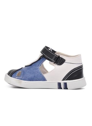 Şiringenç 210110 Lacivert-Bej-Hardal Comfort Erkek Çocuk Günlük Ayakkabı Mavi